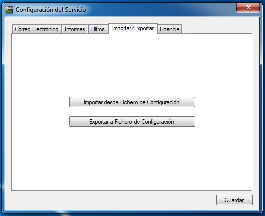 OSC Event Watcher - Importar/Exportar Configuración